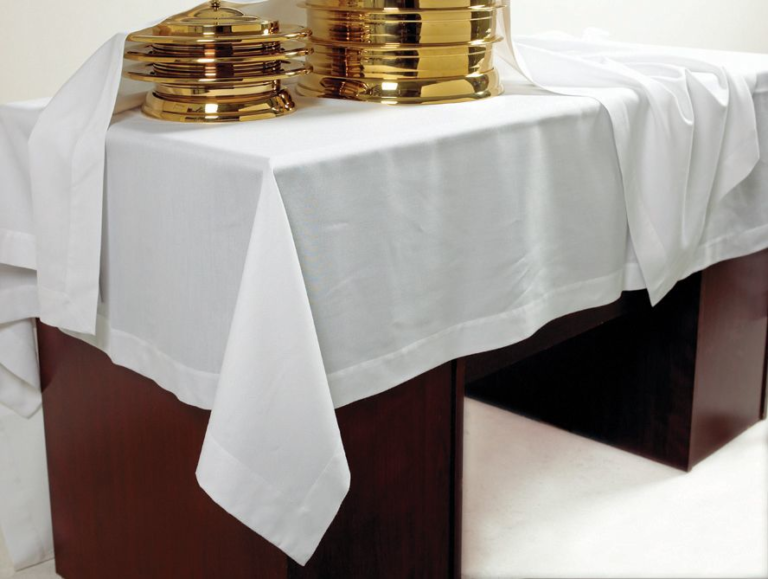 Communion Table Cover – IVORY Linen