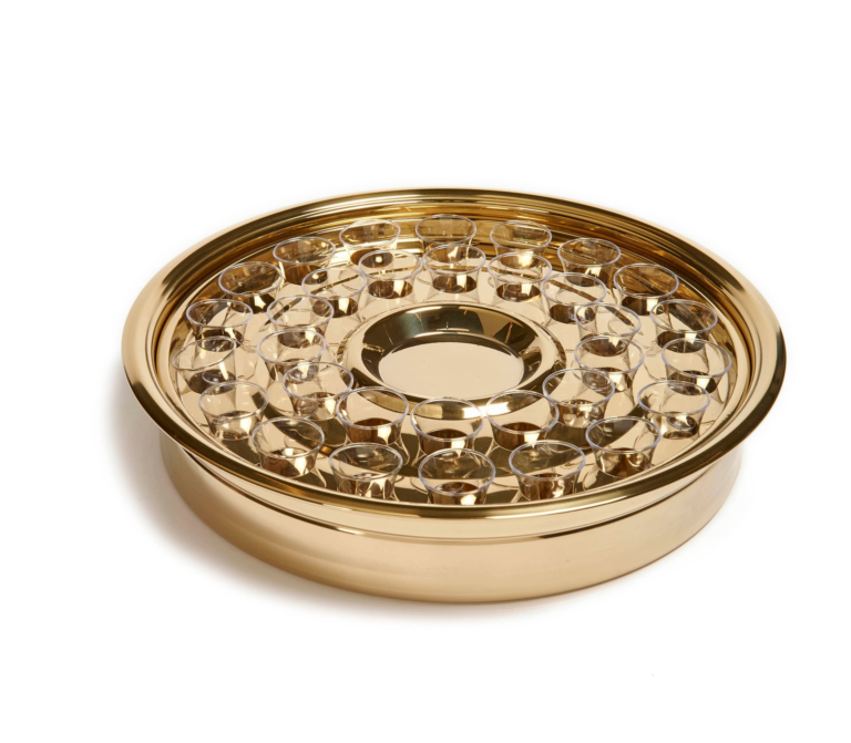RW Brass One Pass Tray and Disk