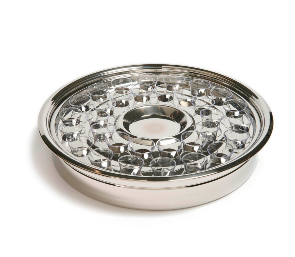 RW Silver One Pass Tray and Disk