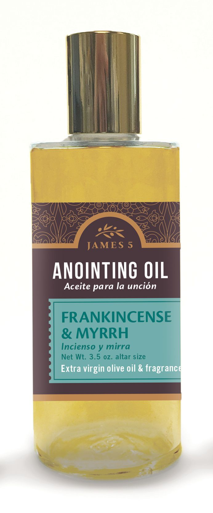 Anointing Oil – Frankincense and Myrrh (3.5 oz) Altar Size