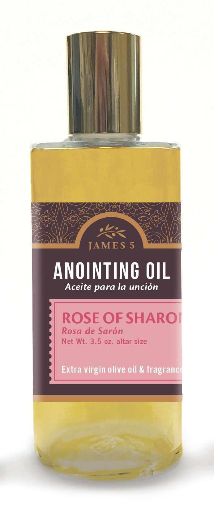 Anointing Oil – Rose of Sharon (3.5 oz) Altar Size