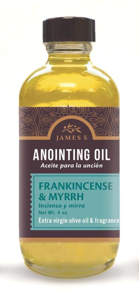 Anointing Oil – Frankincense and Myrrh (4 oz) Refill