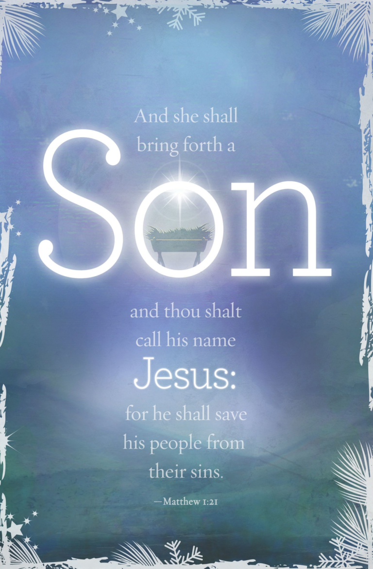 Bring Forth A Son – Bulletin (Pkg 100) Christmas