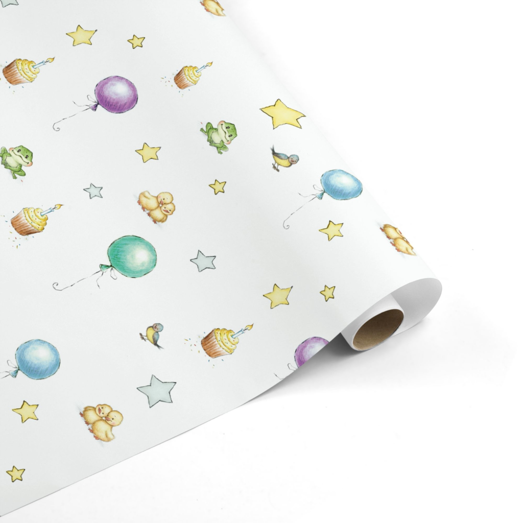 Celebration Baby Wrapping Paper