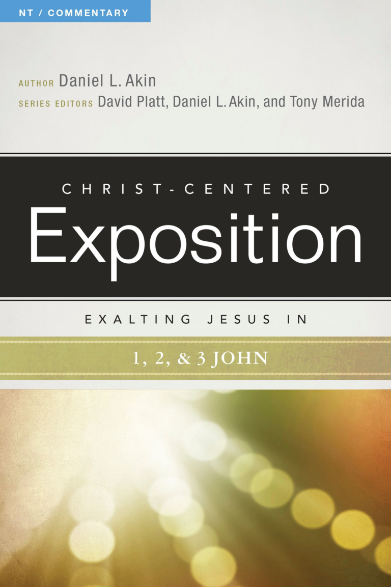 Exalting Jesus in 1,2,3 John, eBook