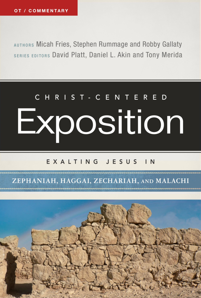 Exalting Jesus in Zephaniah, Haggai, Zechariah, and Malachi, eBook