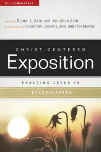 Exalting Jesus in Ecclesiastes, eBook