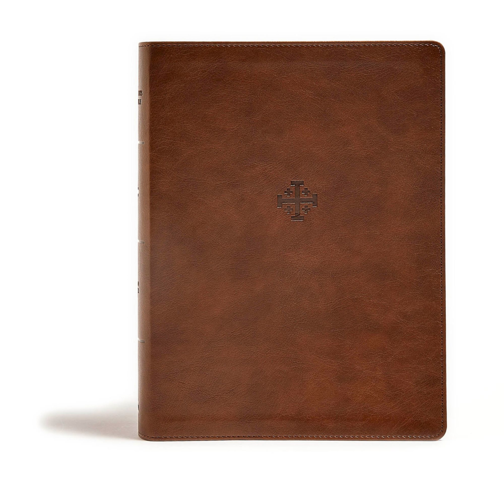 CSB Life Connections Study Bible, Brown LeatherTouch, Indexed