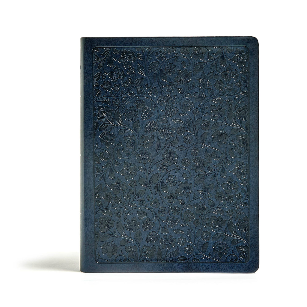 CSB Life Connections Study Bible, Navy LeatherTouch