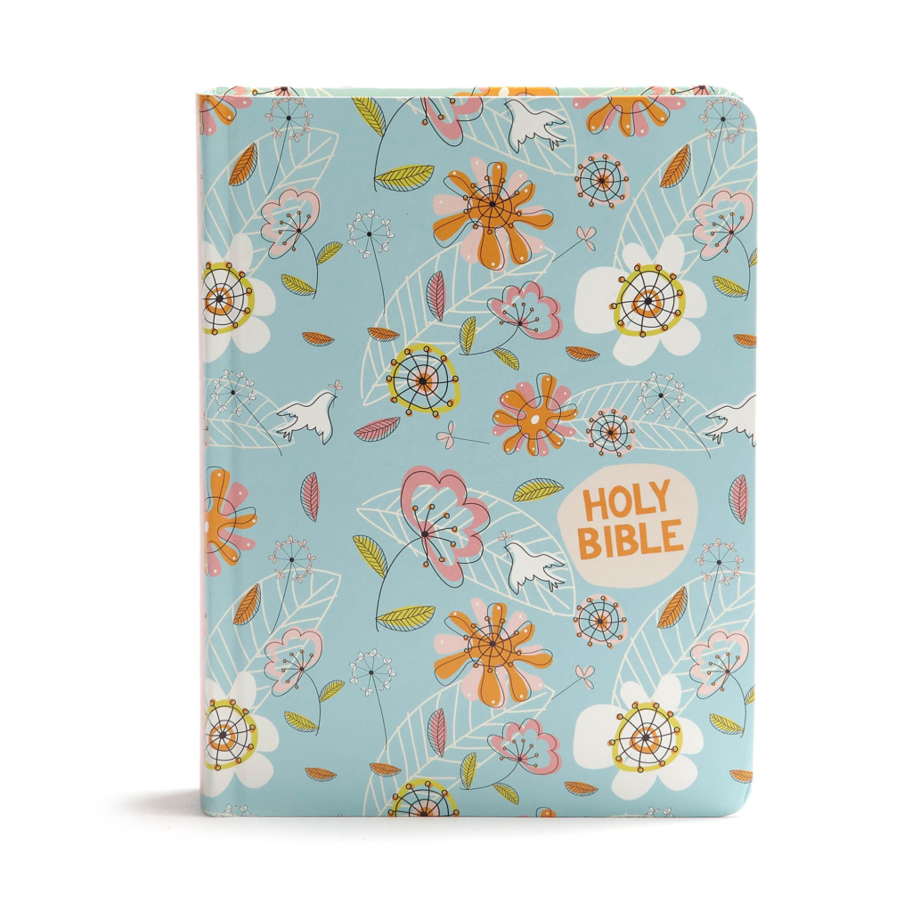 CSB Journal and Draw Bible for Kids, Blue