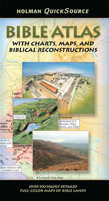Holman QuickSource Bible Atlas, eBook