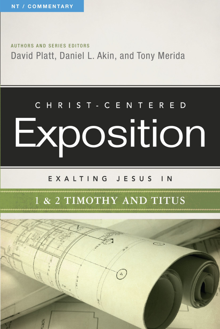 Exalting Jesus in 1 & 2 Timothy and Titus, eBook