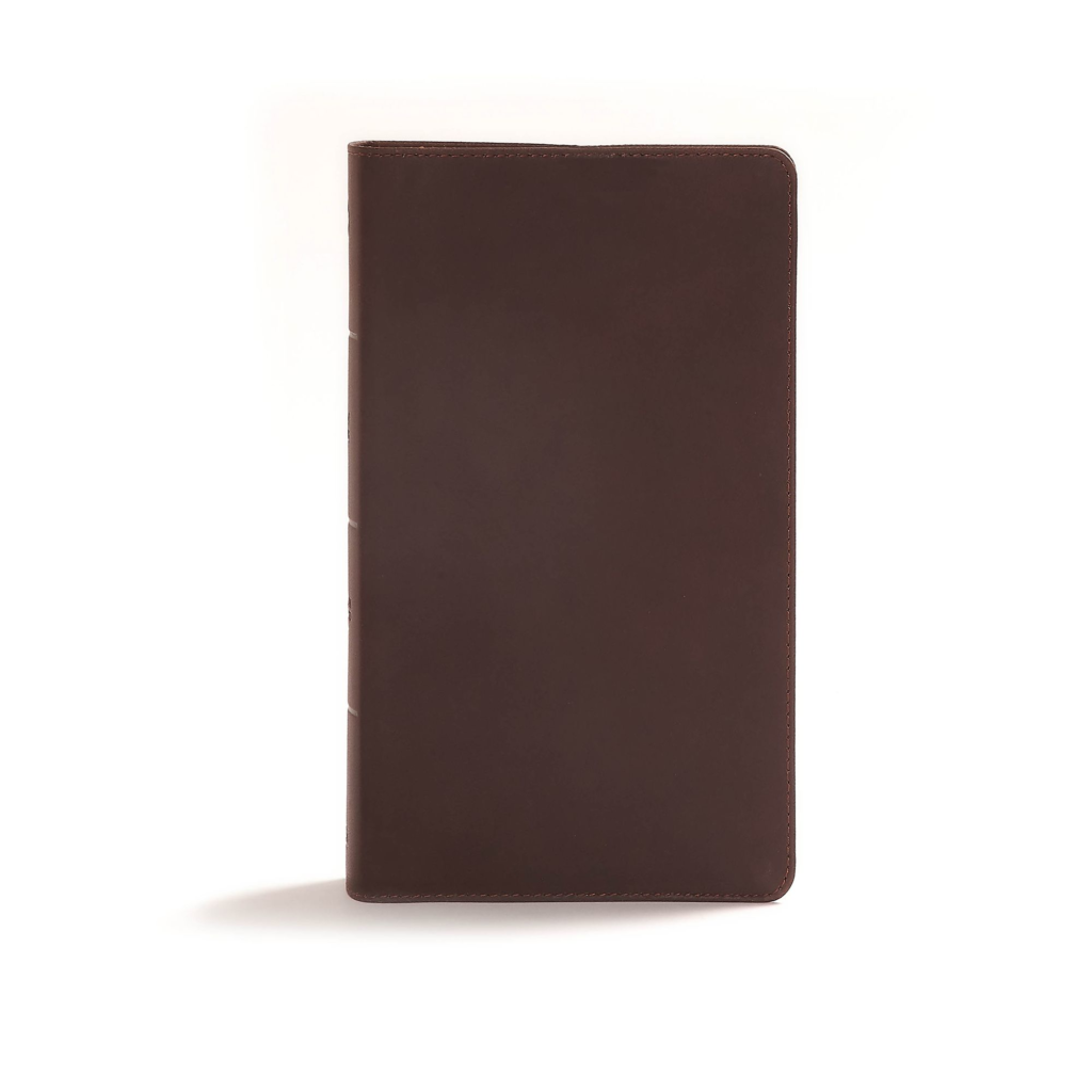 CSB Reader's Bible, Brown Genuine Leather