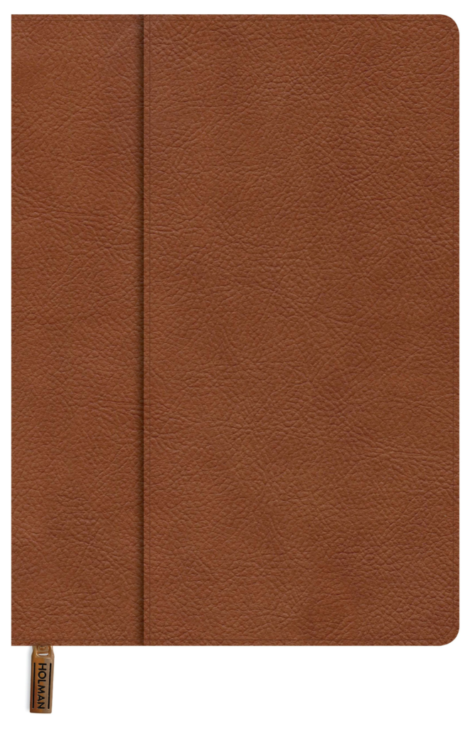 Bible Cover, Medium Tan LeatherTouch