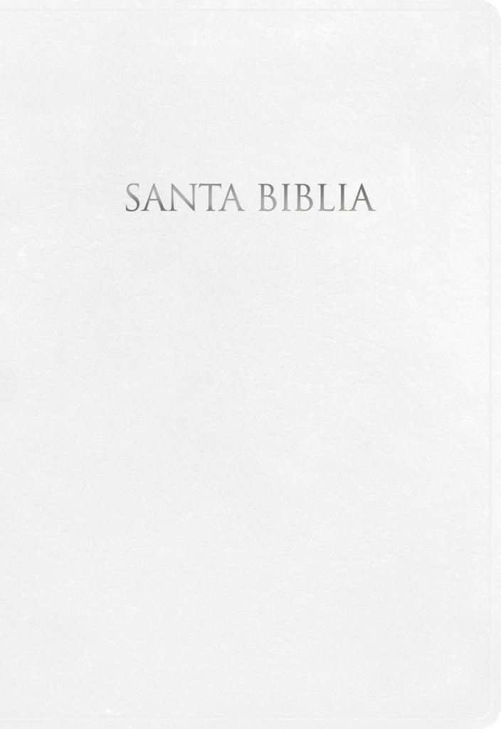 NVI Biblia para Regalos y Premios, blanco imitación piel