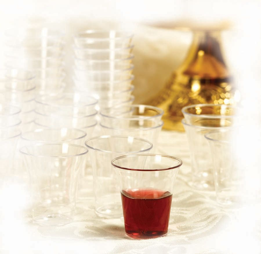 Communion Cups Plastic – 100 count