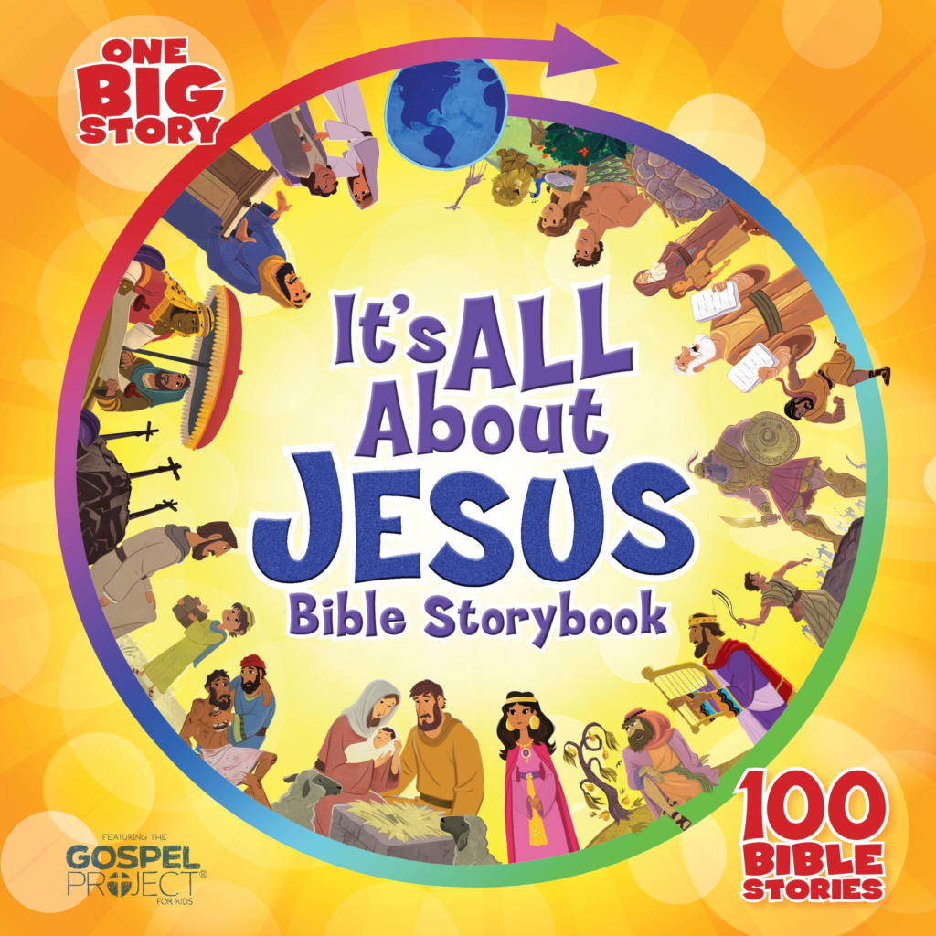 It's All About Jesus Bible Storybook (padded)