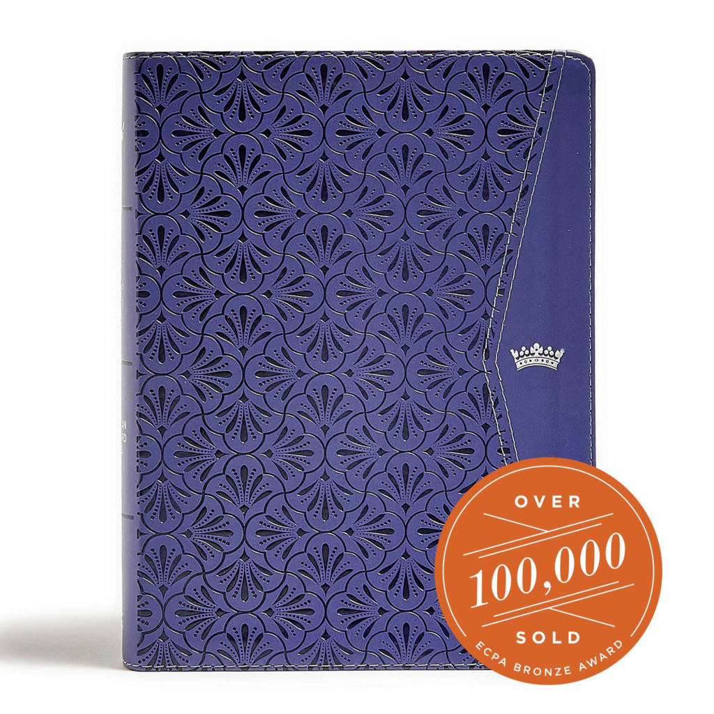 CSB Tony Evans Study Bible, Purple LeatherTouch