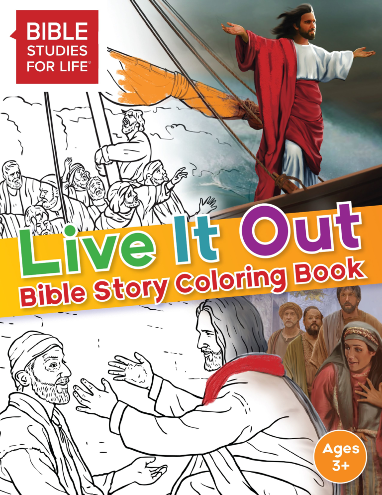 Live It Out Bible Story Coloring Book
