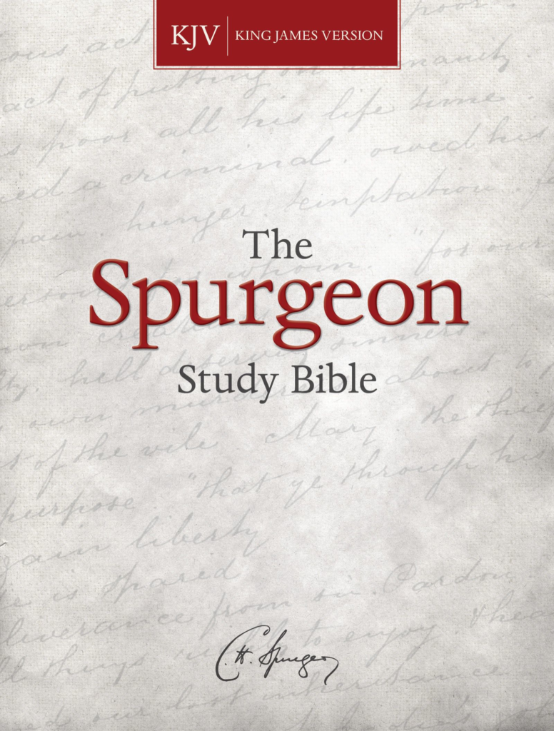 KJV Spurgeon Study Bible, eBook