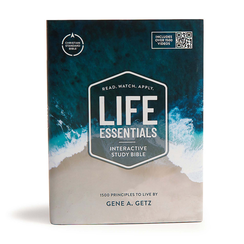 CSB Life Essentials Interactive Study Bible, Hardcover w/Jacket