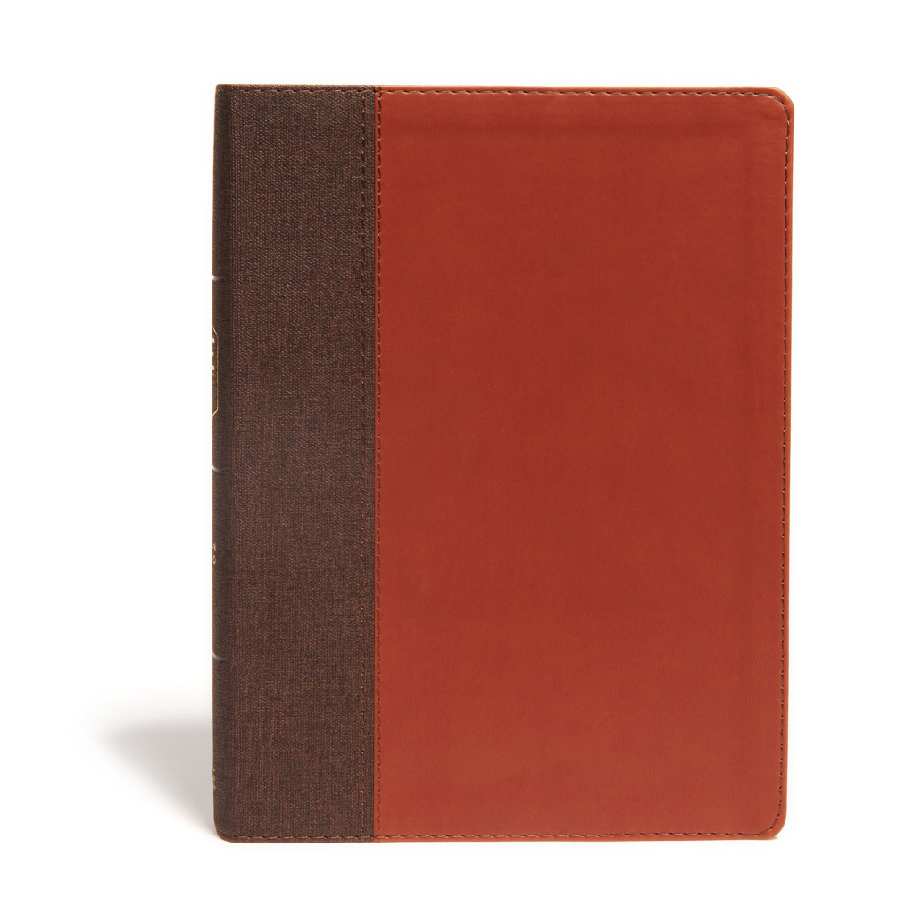 CSB Life Essentials Interactive Study Bible, Brown LeatherTouch