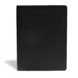 CSB Life Essentials Interactive Study Bible, Black Genuine Leather