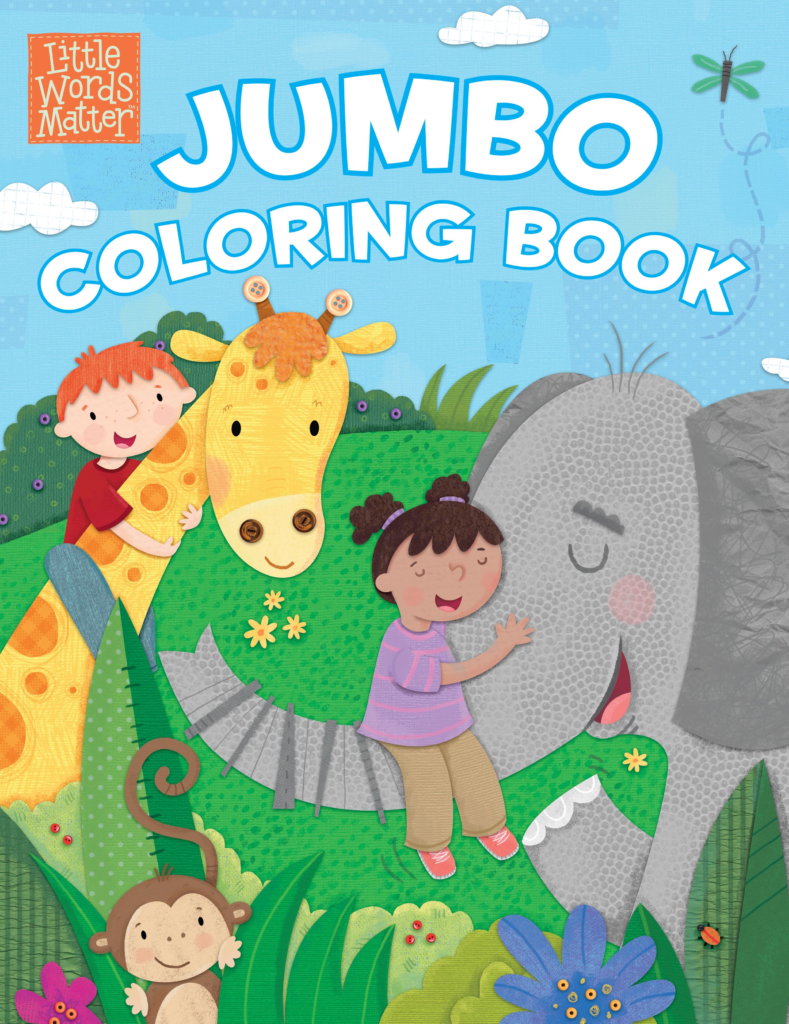 Little Words Matter Jumbo Coloring Book