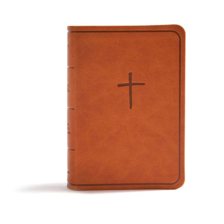 KJV On-the-Go Bible, Ginger LeatherTouch
