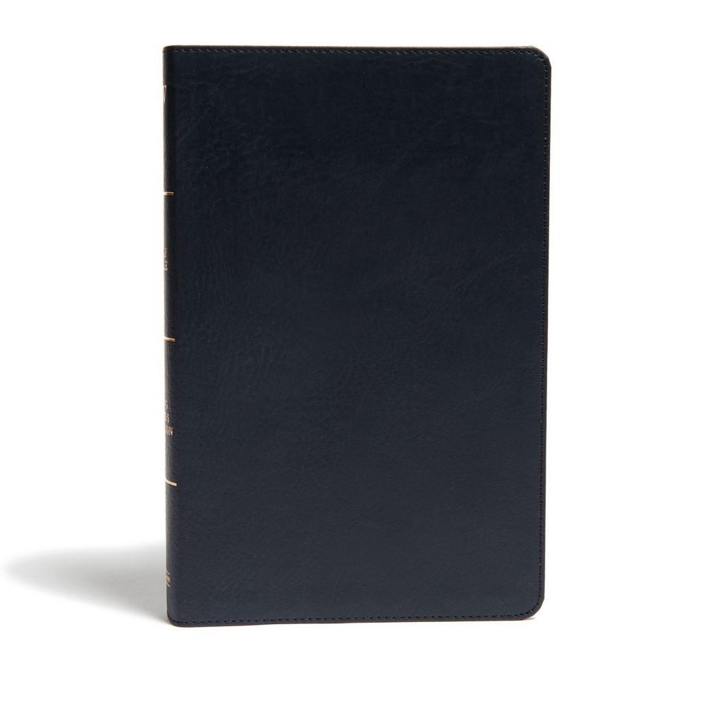 KJV Ultrathin Reference Bible, Black LeatherTouch