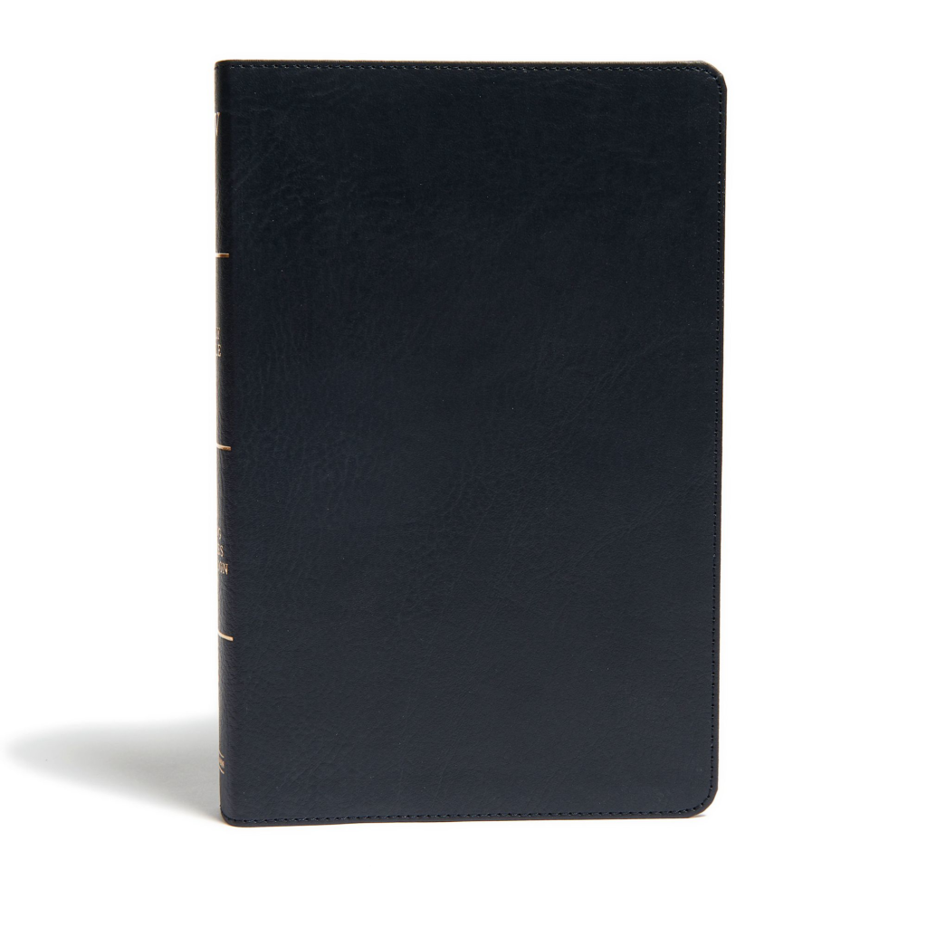 KJV Ultrathin Reference Bible, Black LeatherTouch, Indexed
