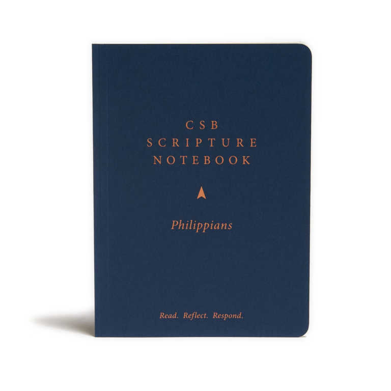 CSB Scripture Notebook, Philippians
