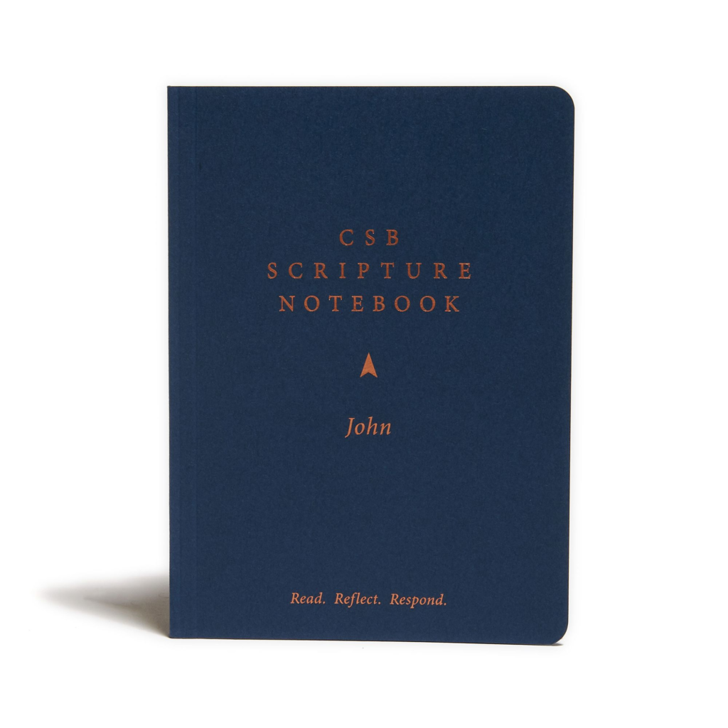 CSB Scripture Notebook, John