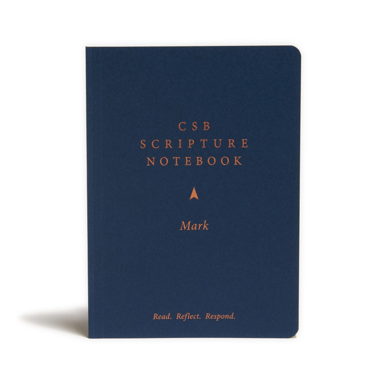 CSB Scripture Notebook, Mark