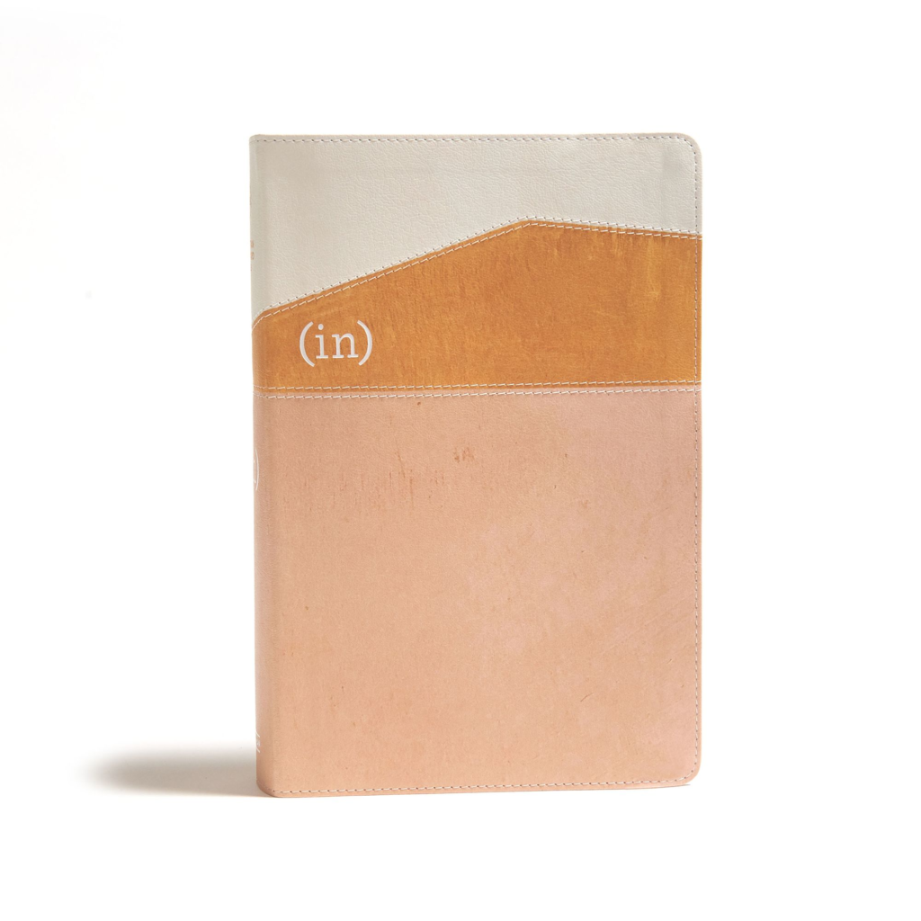 CSB (in)courage Devotional Bible, Desert/Mustard/Alabaster LeatherTouch