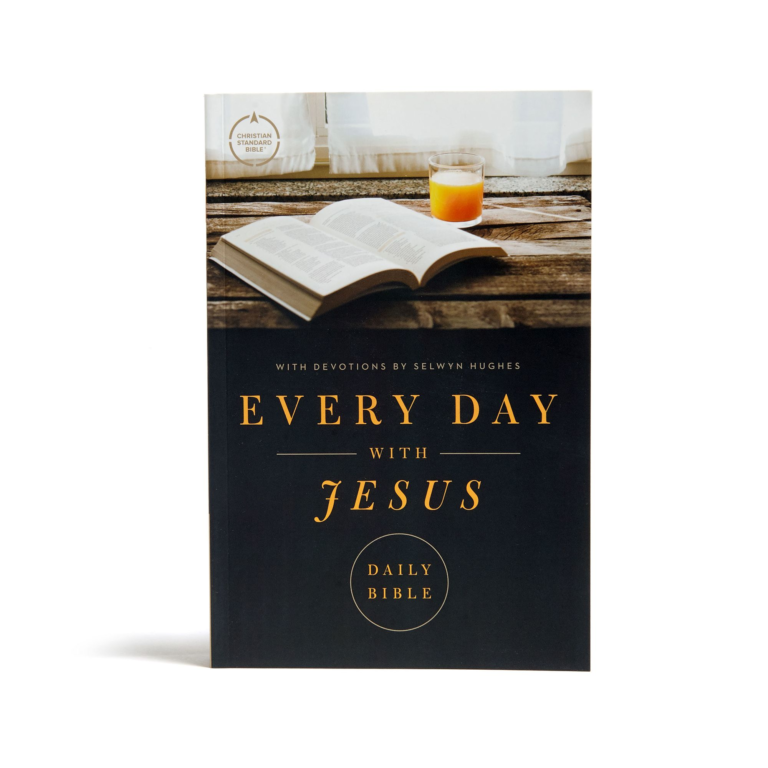 CSB Every Day with Jesus Daily Bible, Trade Paper Edition