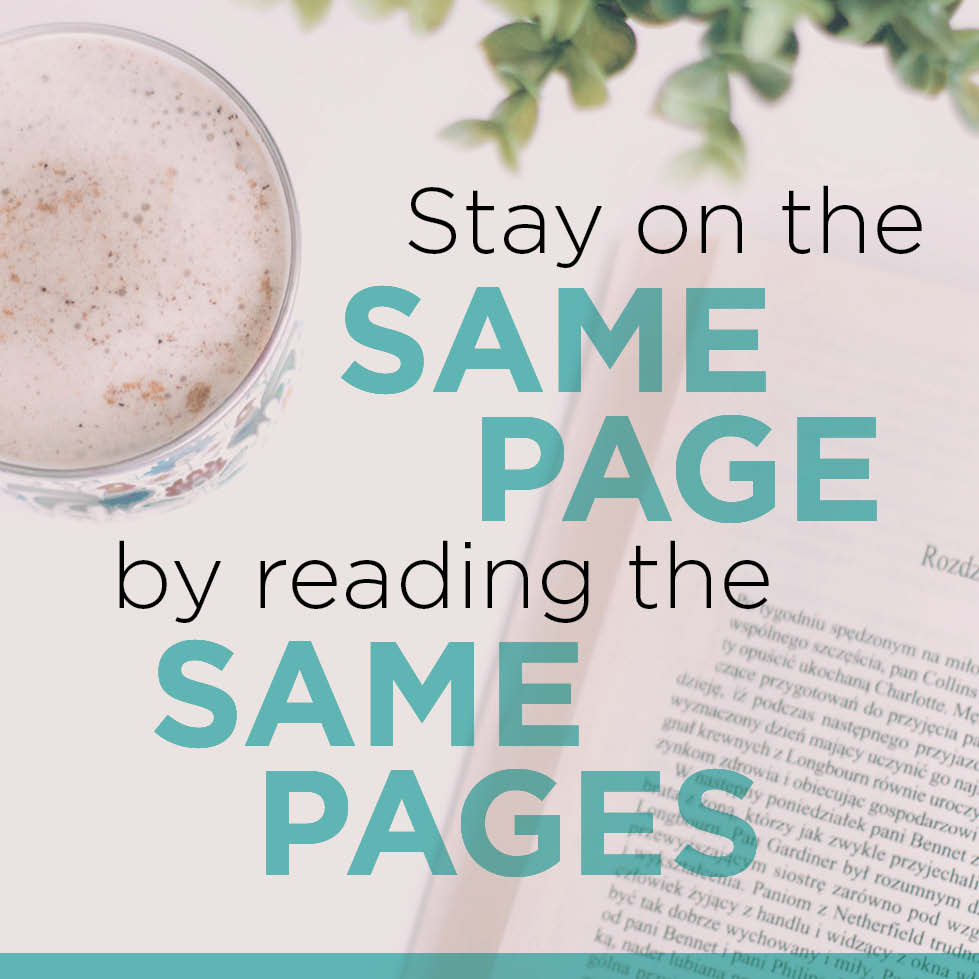 Stay on the Same Page Resources