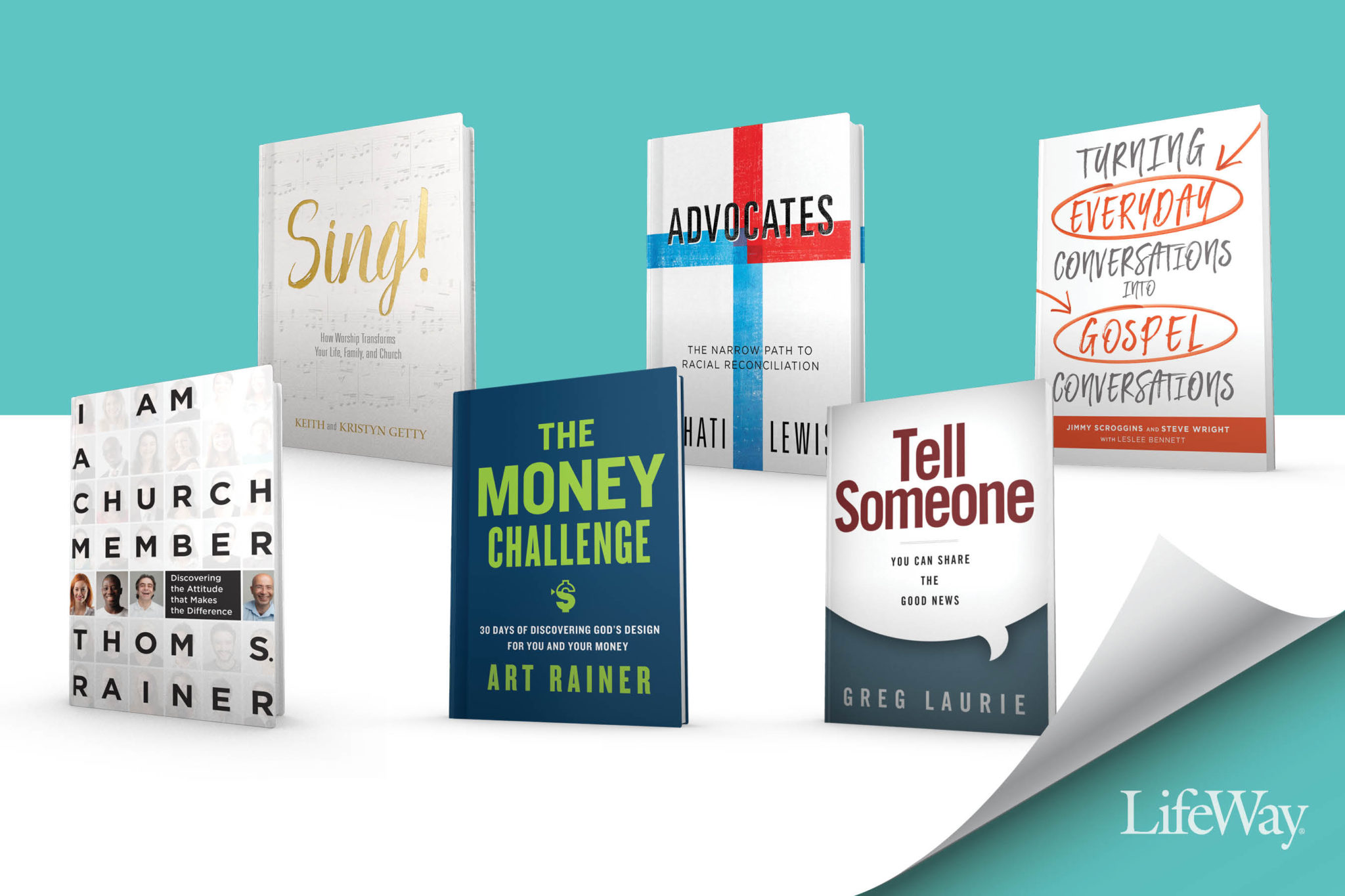 B&H Publishing offers low-cost books with free discussion guides to churches