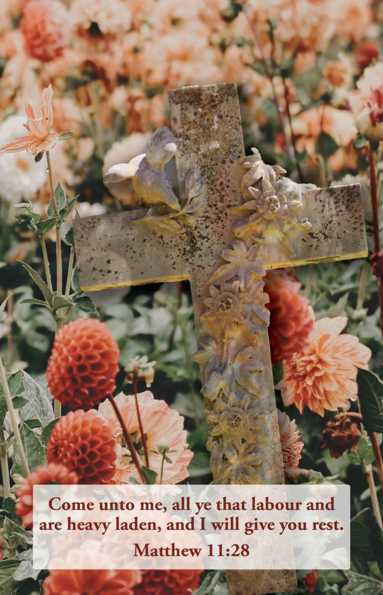 Rest  Bulletin (Pkg 100) Funeral