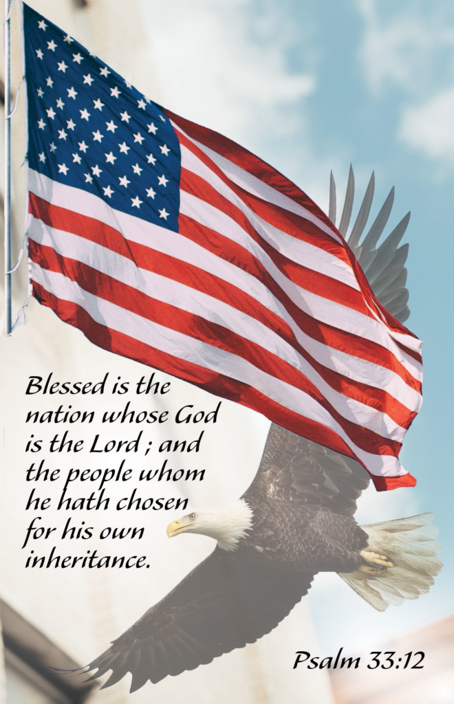 Blessed is the Nation  Bulletin (Pkg 100) Patriotic