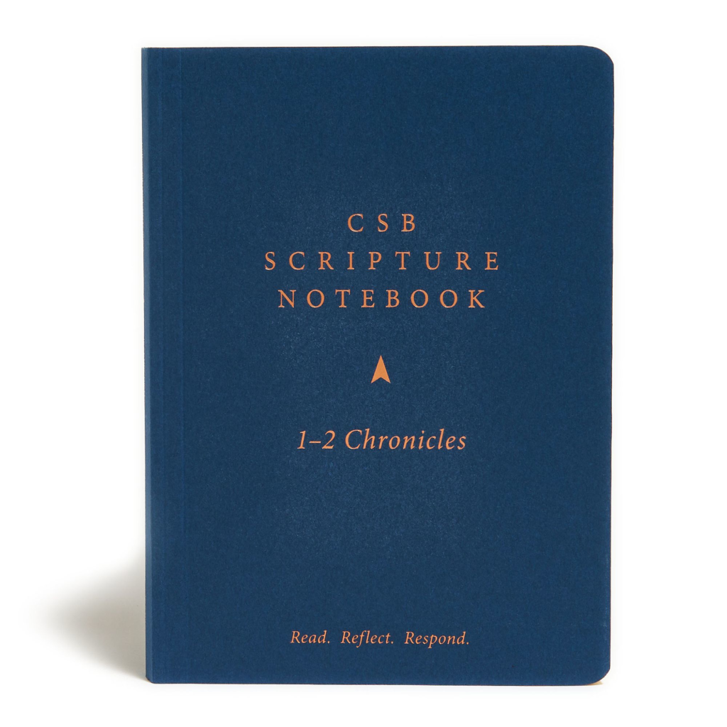 CSB Scripture Notebook, 1-2 Chronicles