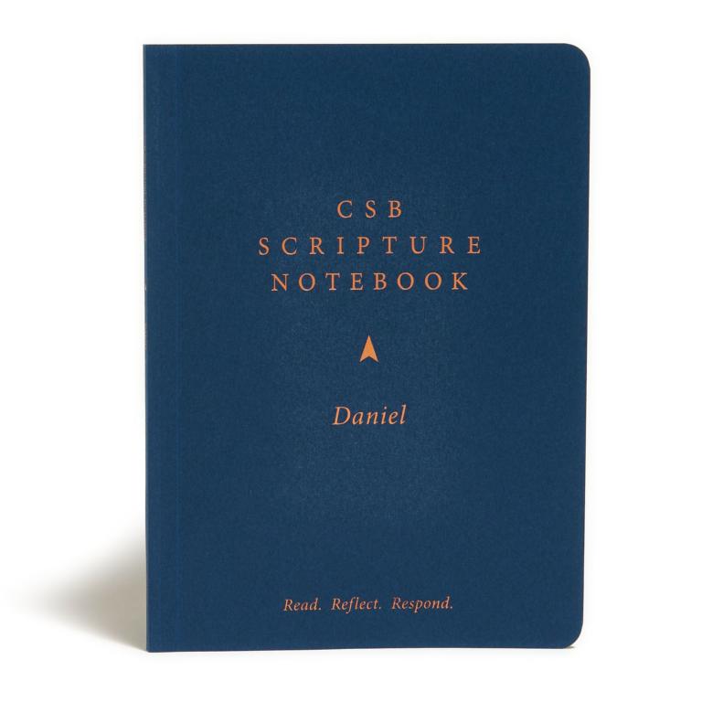 CSB Scripture Notebook, Daniel