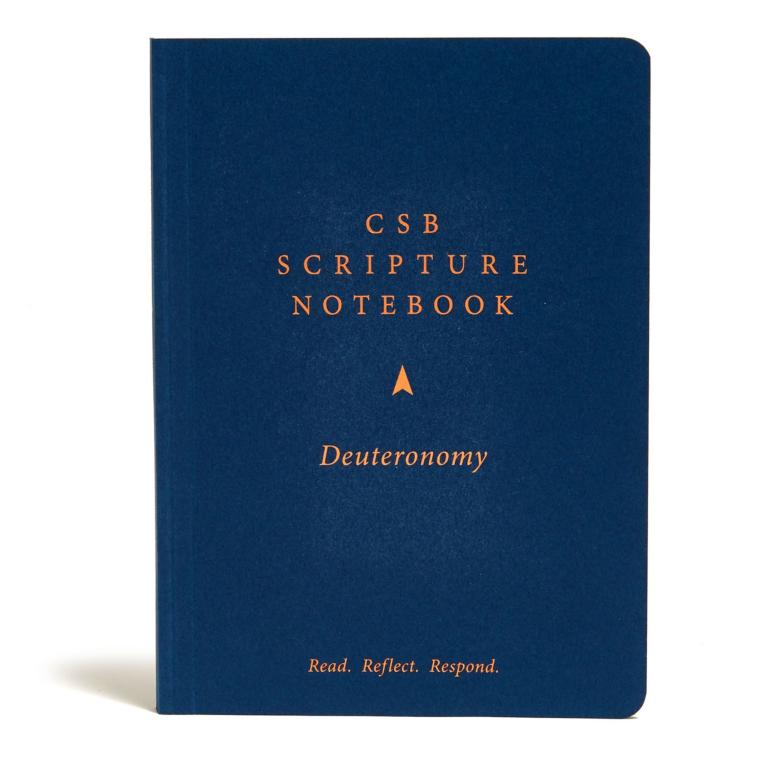 CSB Scripture Notebook, Deuteronomy