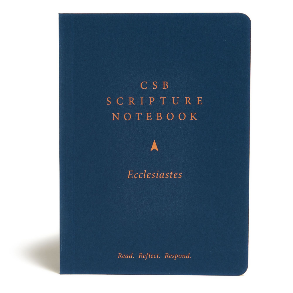 CSB Scripture Notebook, Ecclesiastes