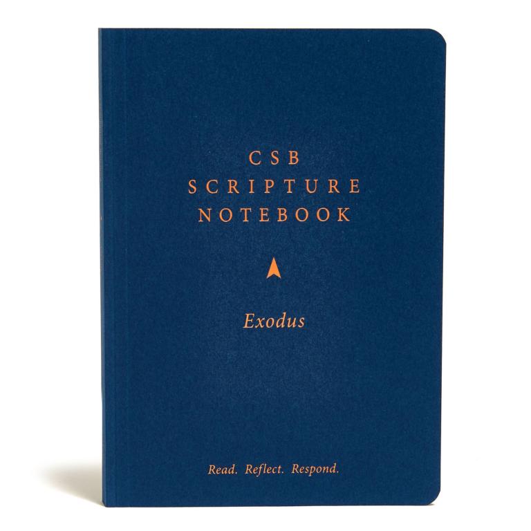CSB Scripture Notebook, Exodus