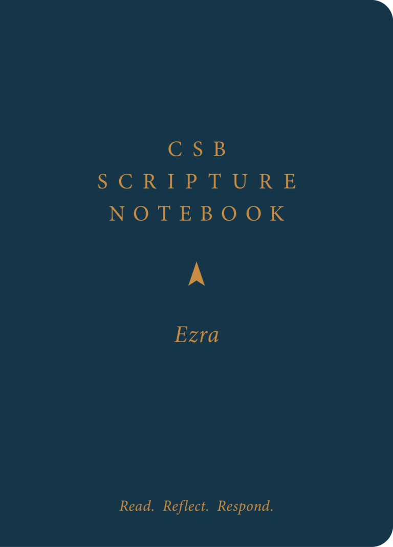 CSB Scripture Notebook, Ezra