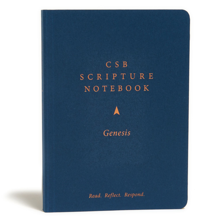 CSB Scripture Notebook, Genesis