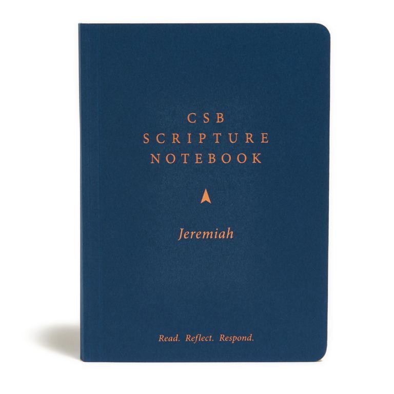 CSB Scripture Notebook, Jeremiah