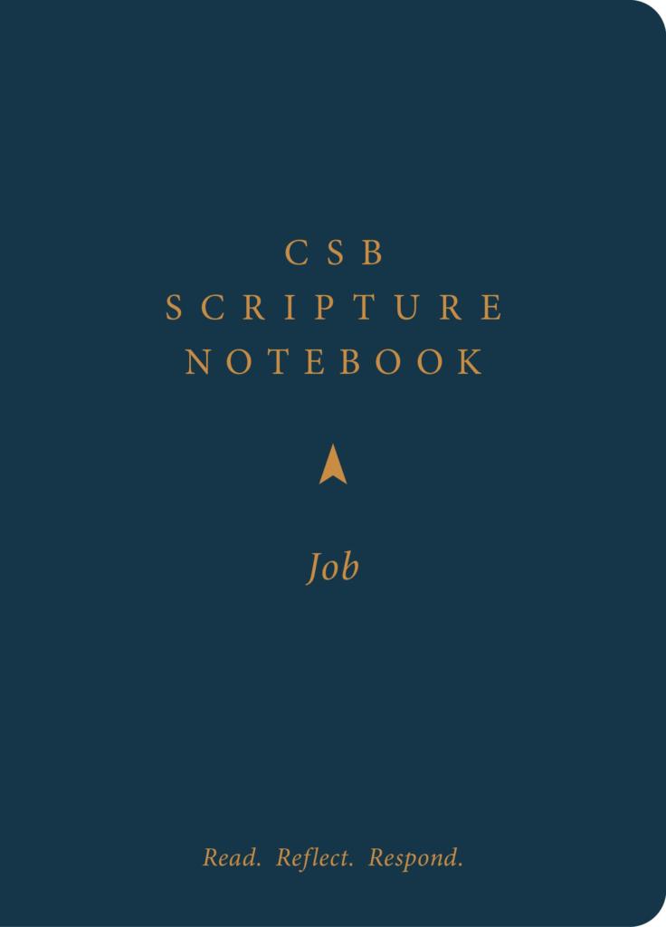 CSB Scripture Notebook, Job