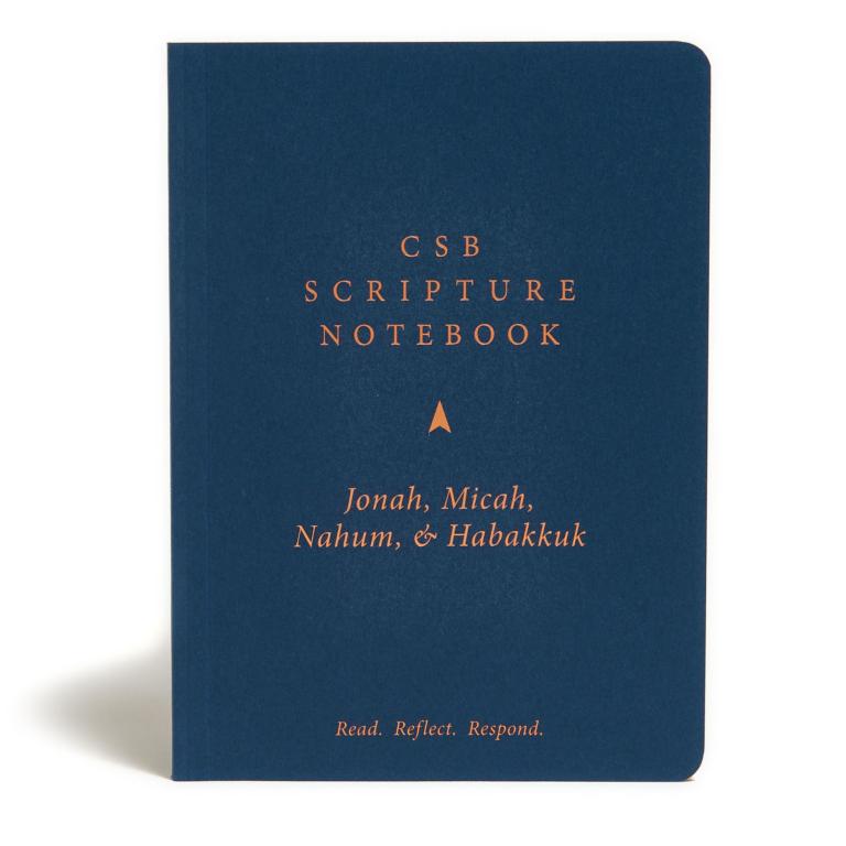 CSB Scripture Notebook, Jonah, Micah, Nahum, Habakkuk